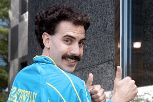 'Borat 2' Marketing Begins with Kazakhstan Twitter Account Trolling Joe Biden and Face Masks