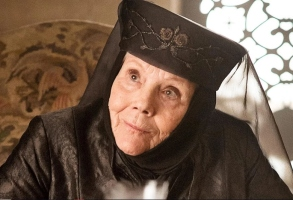 "Diana Rigg in ""Game of Thrones"""
