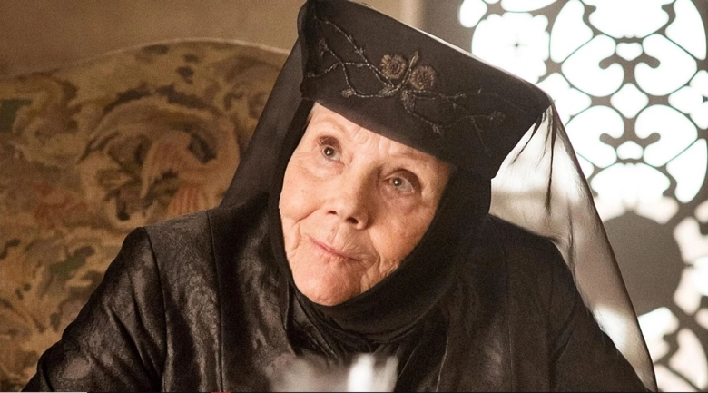 """Diana Rigg in """"Game of Thrones"""""""