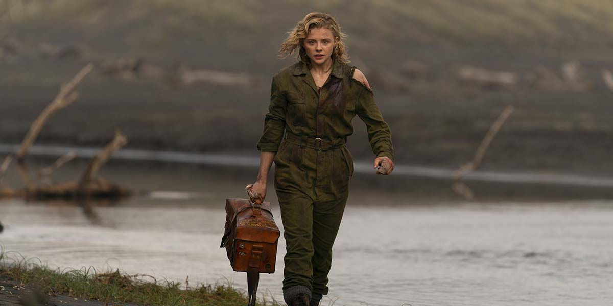 'Shadow in the Cloud' Review: Chloe Moretz Goes Wild in a Totally Bonkers WWII Monster Movie