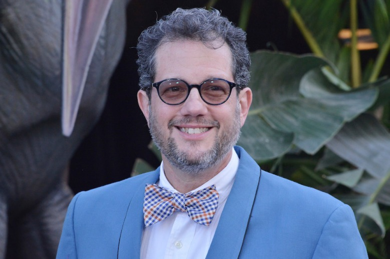 """Michael Giacchino arrives at the """"Jurassic World: Fallen Kingdom"""" Los Angeles Premiere held at the Walt Disney Concert Hall in Los Angeles, CA on Tuesday, June 12, 2018. (Photo By Sthanlee B. Mirador/Sipa USA)(Sipa via AP Images)"""
