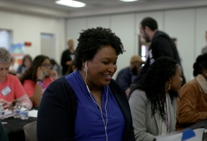 Stacey Abrams in ALL INCourtesy of Amazon Studios