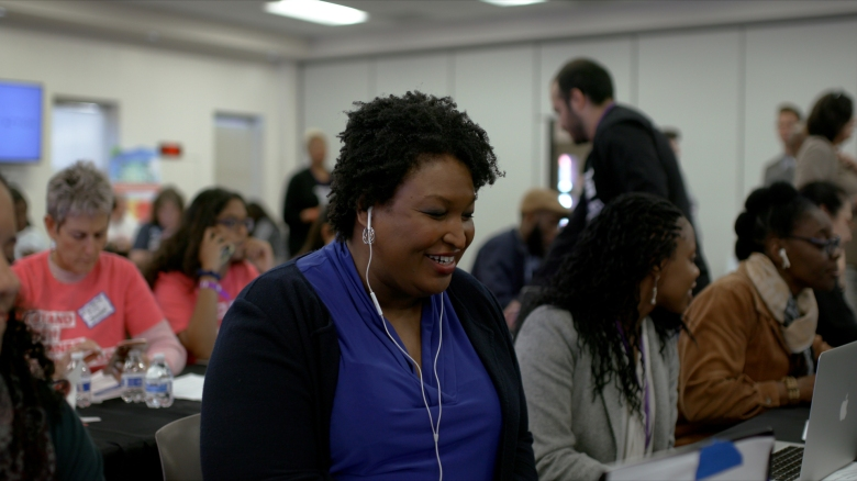 Stacey Abrams in ALL INCourtesy of