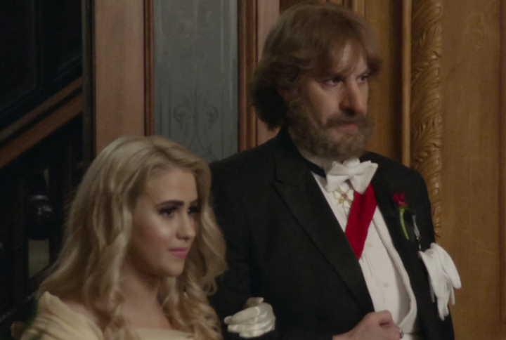 """Maria Bakalova and Sacha Baron Cohen play daughter and father in """"Borat Subsequent Moviefilm"""" Borat 2"""
