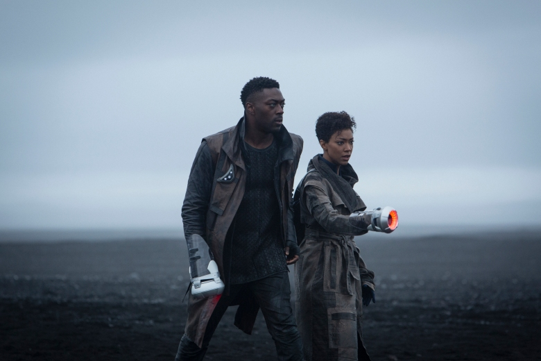David Ajala and Sonequa Martin Green