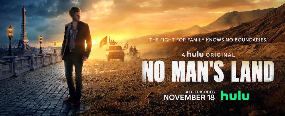"""Hulu's """"No Man's Land"""" poster key art"""