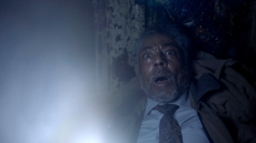 "Giancarlo Esposito in ""Gray Matter,"" a segment of Shudder's ""Creepshow"" based on one of Stephen King's short stories."