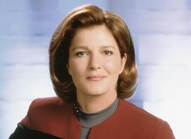 STAR TREK: VOYAGER, Kate Mulgrew, (2000), 1995-2001. © Paramount Television / Courtesy: Everett Collection