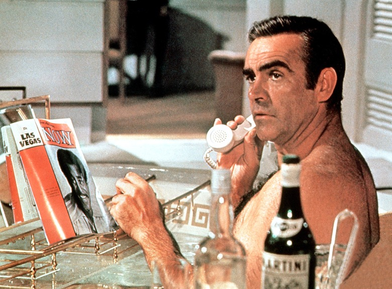 DIAMONDS ARE FOREVER, Sean Connery, 1971