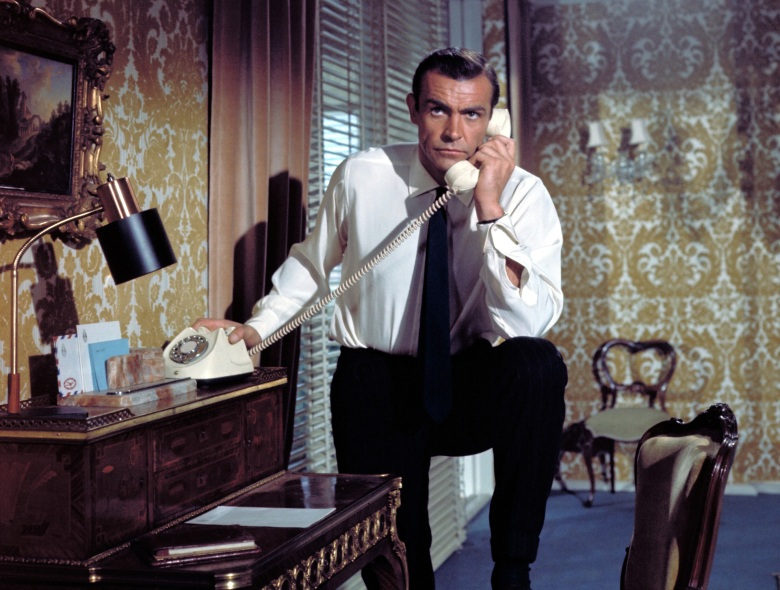 FROM RUSSIA WITH LOVE, Sean Connery, 1963.