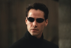 THE MATRIX RELOADED, Keanu Reeves, 2003, (c) Warner Brothers/courtesy Everett Collection