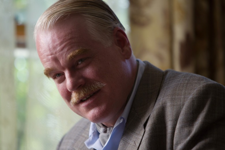 THE MASTER, Philip Seymour Hoffman, 2012. ph: Phil Bray/©Weinstein Company/courtesy Everett Collection