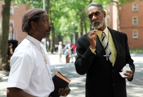 RED HOOK SUMMER, from left: Clarke Peters, Thomas Jefferson Byrd, 2012. ph: Winter Coleman/©Variance Films/courtesy Everett Collection