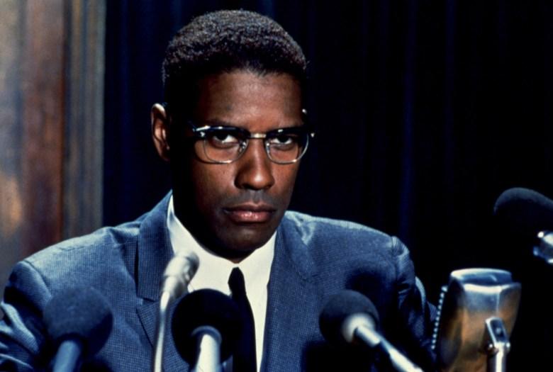 MALCOLM X, Denzel Washington, 1992