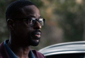 """THIS IS US -- """"Forty Part 1/Forty Part 2"""" Episode 501/502 -- Pictured in this screengrab: Sterling K. Brown as Randall -- (Photo by: NBC)"""