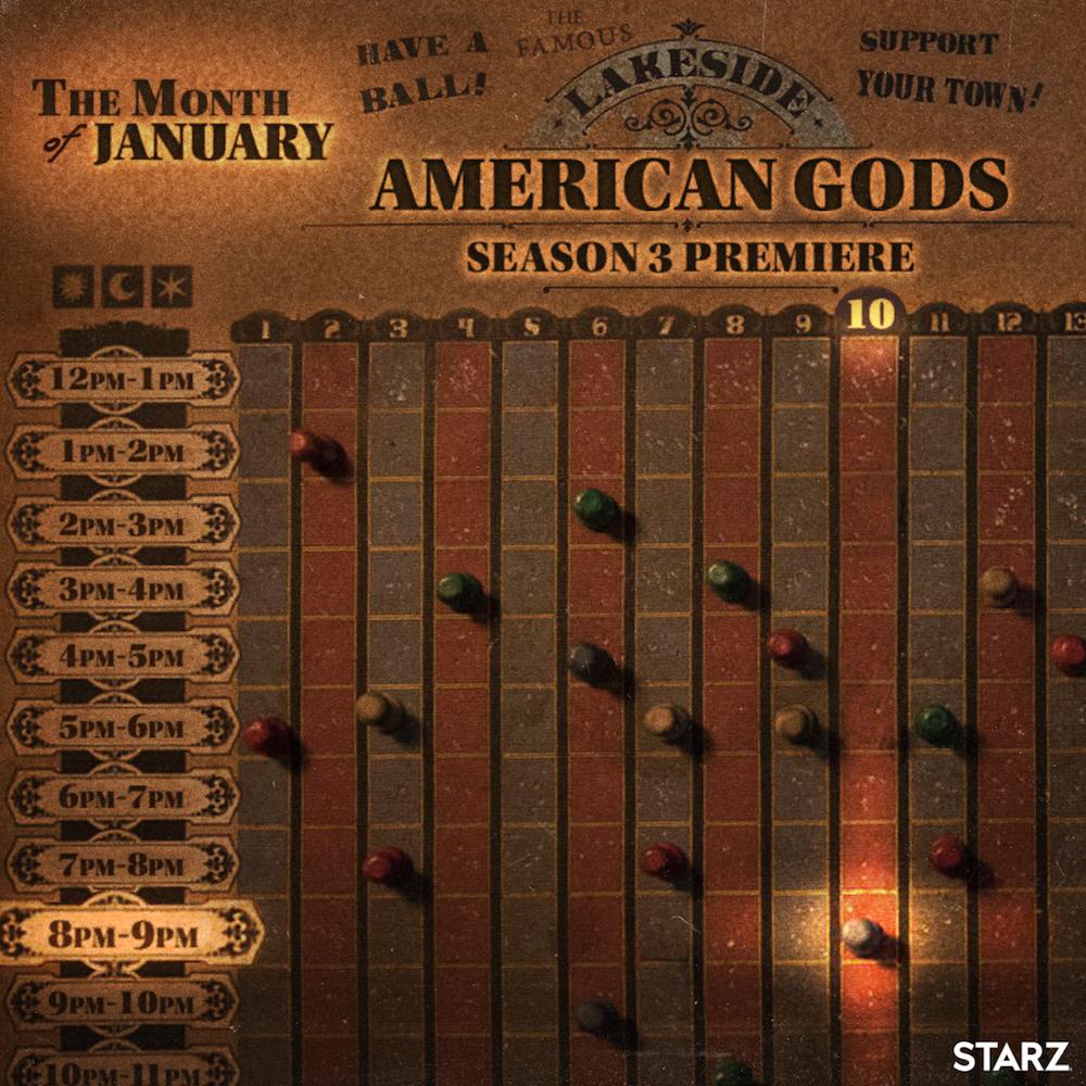 """""""American Gods"""" Season 3 release date"""