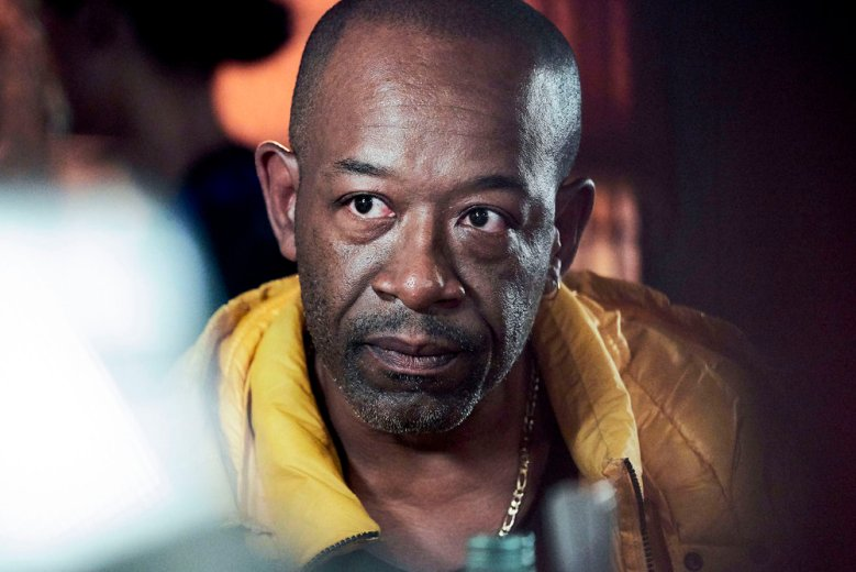 """SAVE ME TOO -- """"Episode 1"""" -- Pictured: Lennie James as Nelly -- (Photo by: Alison Painter/Sky UK Limited/Peacock)"""