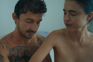 Shia LaBeouf and Margaret Qualley Bare All in NSFW Music Video Shot by Natasha Braier — Watch