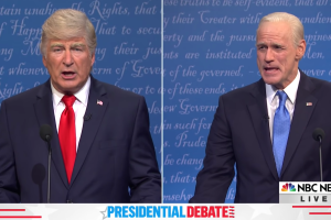 'SNL': Maya Rudolph Turns Final Debate with Jim Carrey and Alec Baldwin into Drinking Game