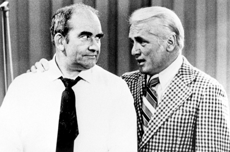 MARY TYLER MOORE SHOW, Ed Asner, Ted Knight, 1970-1977