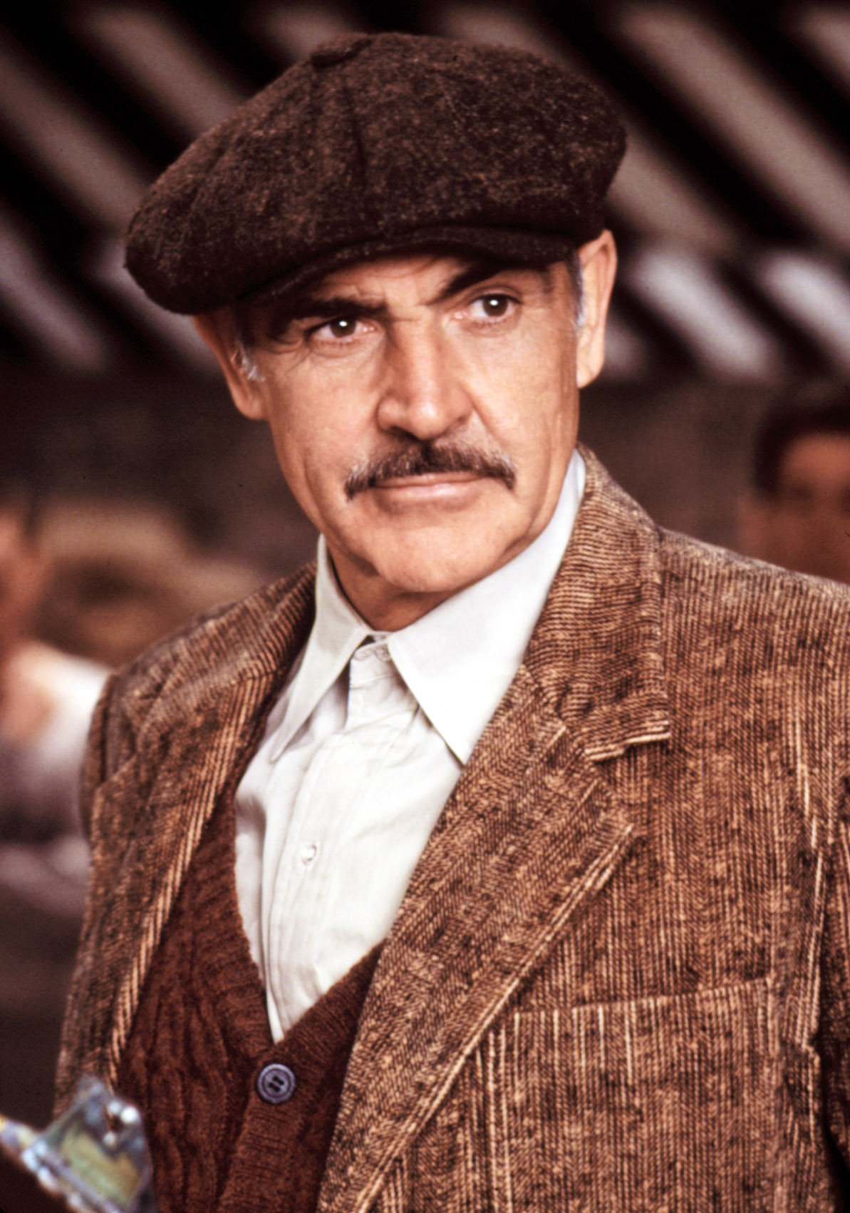 THE UNTOUCHABLES, Sean Connery, 1987. (c) Paramount Pictures/ Courtesy: Everett Collection.