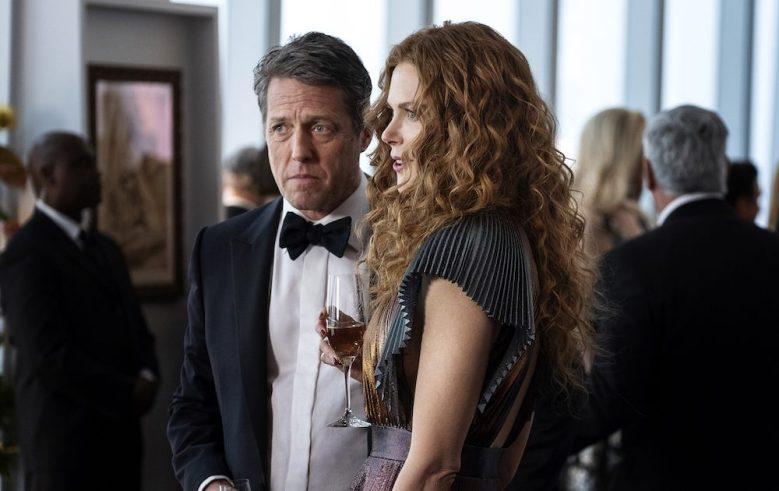 "Hugh Grant and Nicole Kidman in ""The Undoing"" HBO"