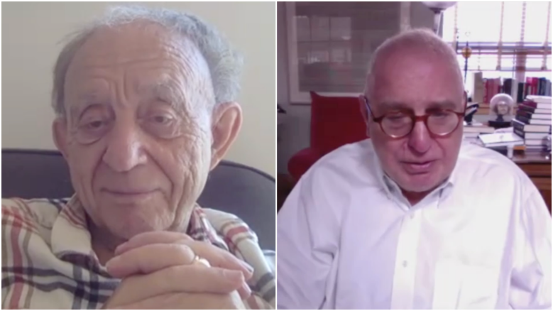 Frederick Wiseman and Errol Morris