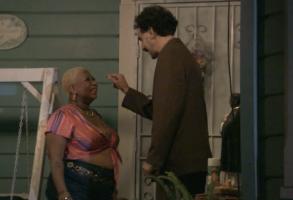 "Luenell and Sacha Baron Cohen in ""Borat"""