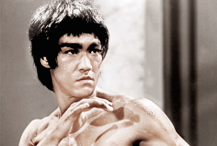 "Bruce Lee in ""Enter the Dragon"""