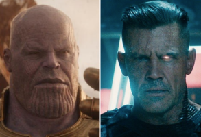 "Josh Brolin in ""Avengers"" and ""Deadpool 2"""