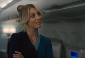 "Kaley Cuoco in ""The Flight Attendant"""