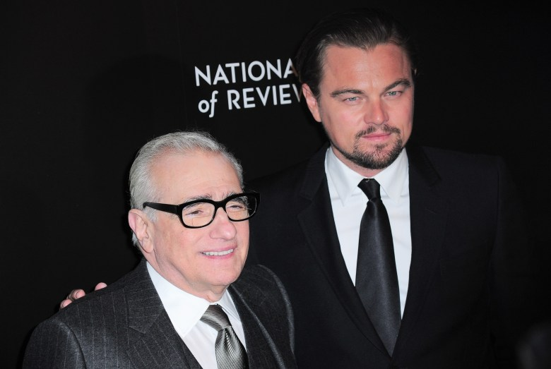 Martin Scorsese, Leonardo DiCaprio at arrivals for National Board Of Review Awards Gala 2014, Cipriani 42nd Street, New York, NY January 7, 2014. Photo By: Gregorio T. Binuya/Everett Collection