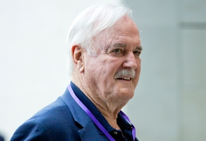 The One Show. Actor John Cleese arriving at BBC Broadcasting House ahead of his appearance on The One Show in London. Picture date: Wednesday August 8, 2018. Photo credit should read: Isabel Infantes/PA Wire URN:37932824 (Press Association via AP Images)
