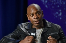 "Dave Chappelle attends the press conference for ""A Star Is Born"" on day 4 of the Toronto International Film Festival at the TIFF Bell Lightbox on Sunday, Sept. 9, 2018, in Toronto. (Photo by Evan Agostini/Invision/AP)"
