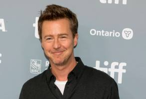 Edward Norton attends the press conference of 'Motherless Brooklyn' during the 44th Toronto International Film Festival, tiff, at Princess of Wales Theatre in Toronto, Canada, on 11 September 2019. | usage worldwide Photo by: Hubert Boesl/picture-alliance/dpa/AP Images