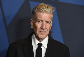 David Lynch arrives at the Governors Awards on Sunday, Oct. 27, 2019, at the Dolby Ballroom in Los Angeles. (Photo by Jordan Strauss/Invision/AP)