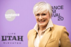 "Actress Glenn Close attends the premiere of ""Four Good Days"" at the Eccles Theatre during the 2020 Sundance Film Festival on Saturday, Jan. 25, 2020, in Park City, Utah. (Photo by Arthur Mola/Invision/AP)"
