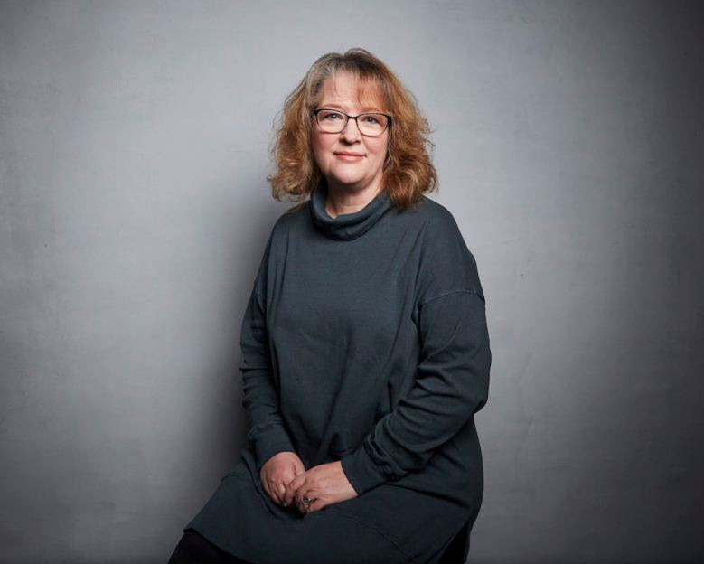 """Director Brenda Chapman poses for a portrait to promote the film """"Come Away"""" at the Music Lodge during the Sundance Film Festival on Sunday, Jan. 26, 2020, in Park City, Utah. (Photo by Taylor Jewell/Invision/AP)"""