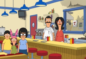 """Bob's Burgers"" Season 11 The family must figure out how to keep the restaurant open after Bobís flattop breaks on the morning of the Ocean Avenue Business Associationís: Ocean Fest on Ocean Avenue in the ìBob Belcher and the Terrible, Horrible, No Good, Very Bad Kidsî milestone 200th episode of BOBíS BURGERS airing Sunday, Nov. 15 (9:00-9:30 PM ET/PT) on FOX. BOBíS BURGERS © 2020 by Twentieth Century Fox Film Corporation."