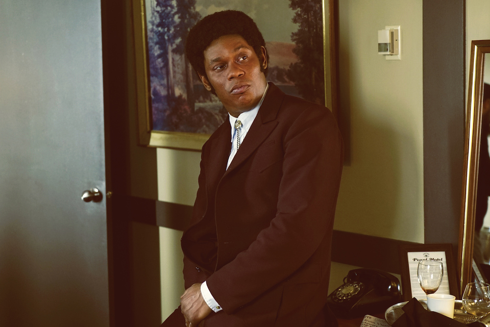 "FARGO -- ""Did You Do This? No, you did it!"" -- Episode 207 (Airs Monday, November 23, 10:00 pm e/p) Pictured: Bokeem Woodbine as Mike Milligan. CR: Chris Large/FX"