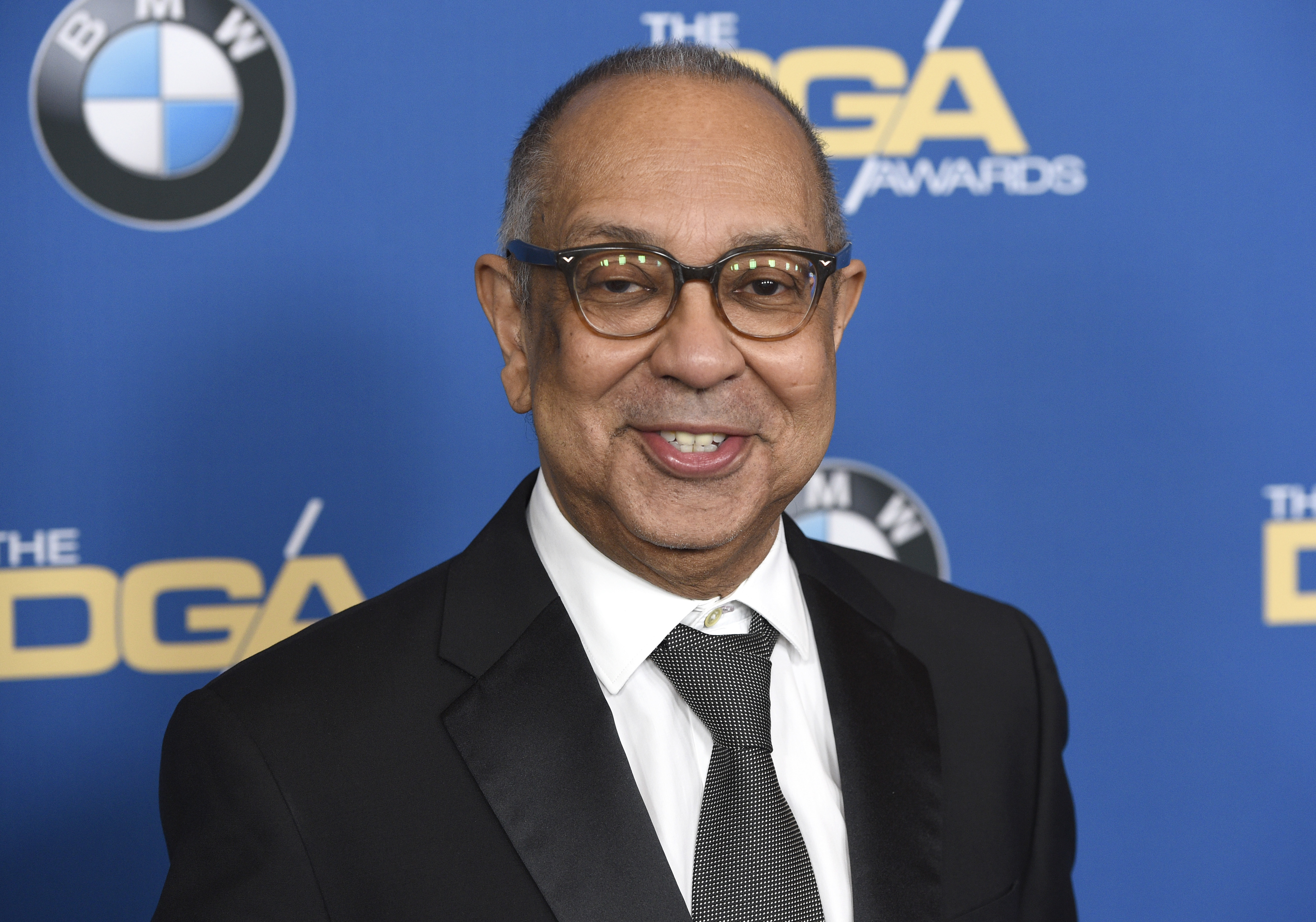 George C. Wolfe arrives at the 70th annual Directors Guild of America Awards at The Beverly Hilton hotel on Saturday, Feb. 3, 2018, in Beverly Hills, Calif. (Photo by Chris Pizzello/Invision/AP)