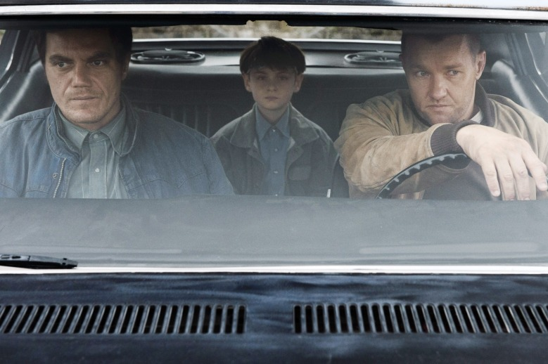 MIDNIGHT SPECIAL, from left: Michael Shannon, Jaeden Lieberher, Joel Edgerton, 2016. ph: Ben Rothstein /© Warner Bros. / courtesy Everett Collection