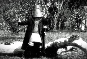 THE STORY OF THE KELLY GANG, Frank Mills as Ned Kelly, 1906