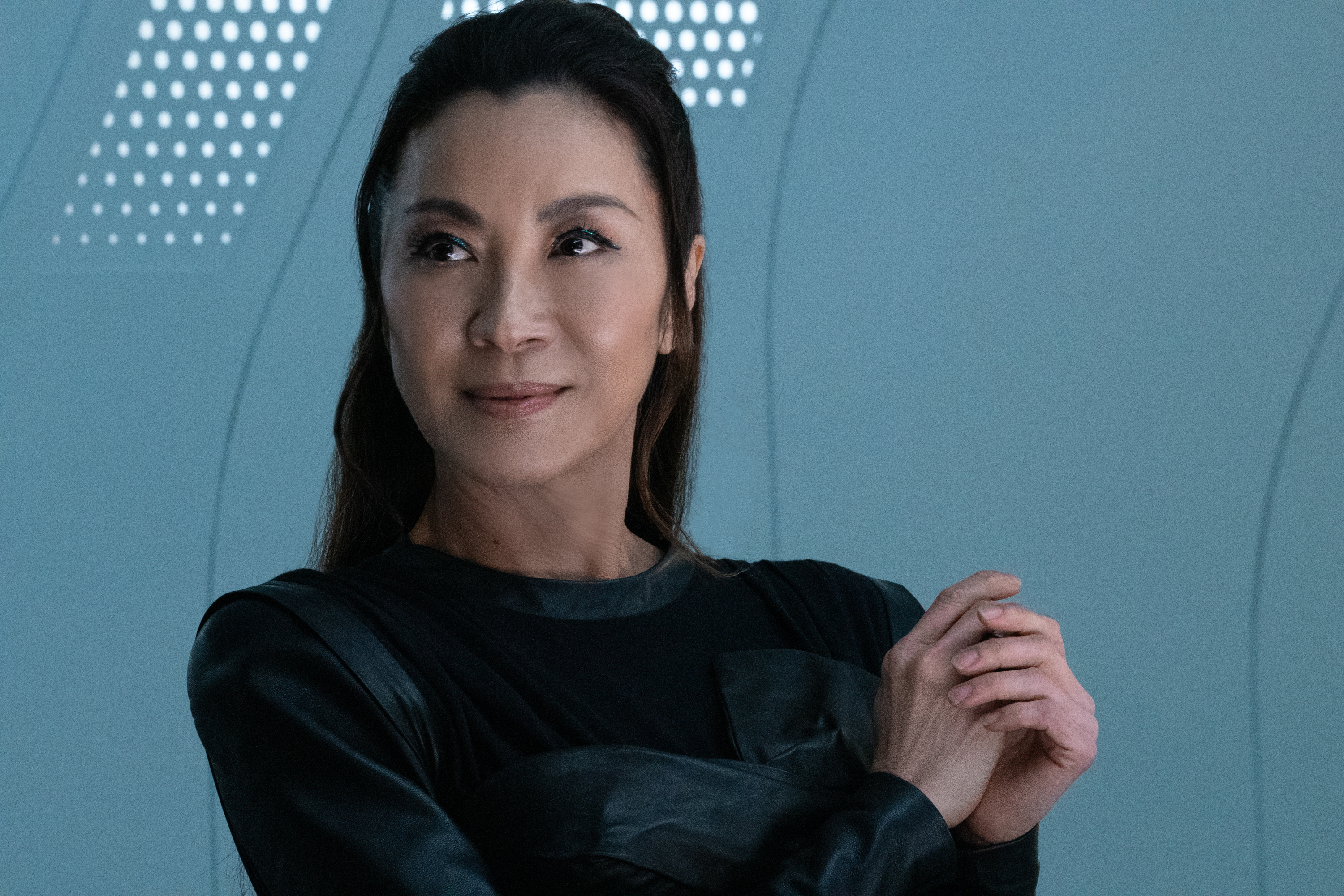 """Die Trying"" — Ep#305 — Pictured: Michelle Yeoh as Georgiou of the CBS All Access series STAR TREK: DISCOVERY. Photo Cr: Michael Gibson/CBS ©2020 CBS Interactive, Inc. All Rights Reserved."