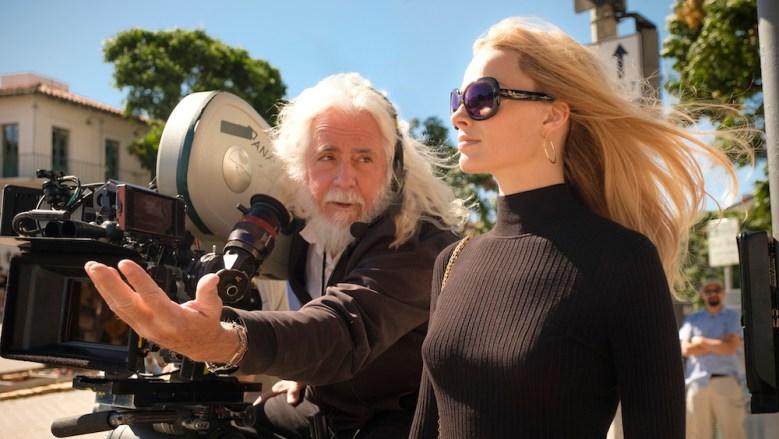 DP, Bob Richardson on set with
