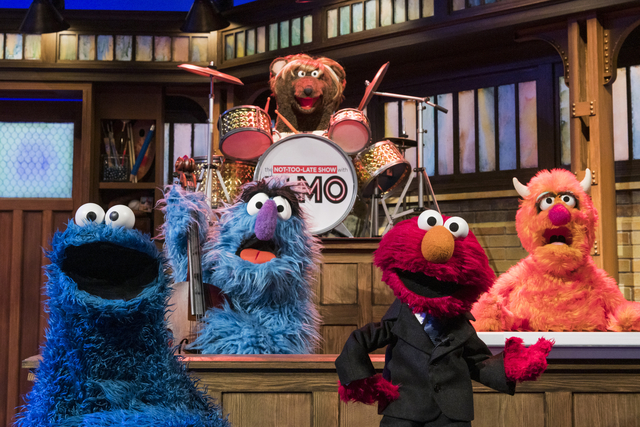 The Not Too Late Show Elmo HBO Max