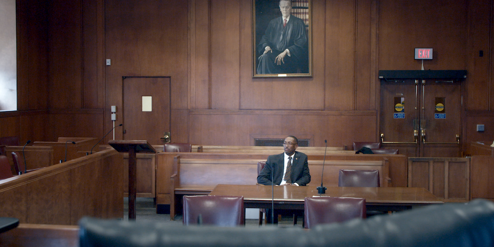 Sean Ellis in episode 1 (Chapter 1) of Trial Four. Cr. NETFLIX © 2020