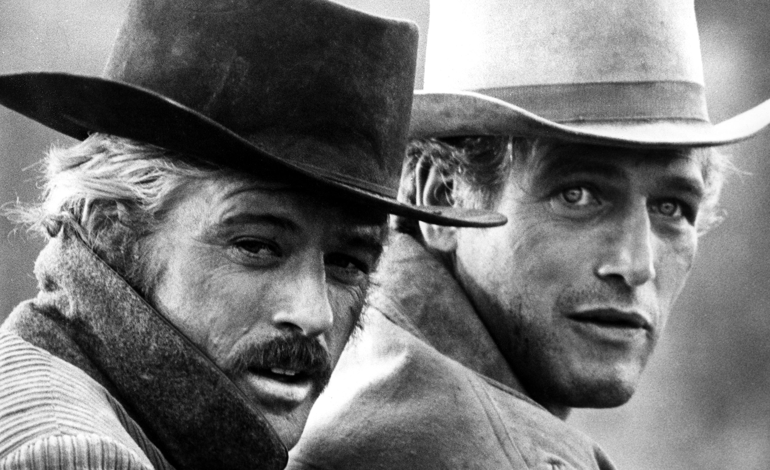 BUTCH CASSIDY AND THE SUNDANCE KID, Robert Redford, Paul Newman, 1969, TM and Copyright (c)20th Century Fox Film Corp. All rights reserved.