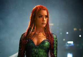 "Amber Heard as Mera in ""Aquaman"""