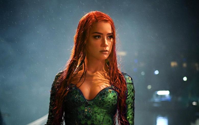 """Amber Heard as Mera in """"Aquaman"""""""